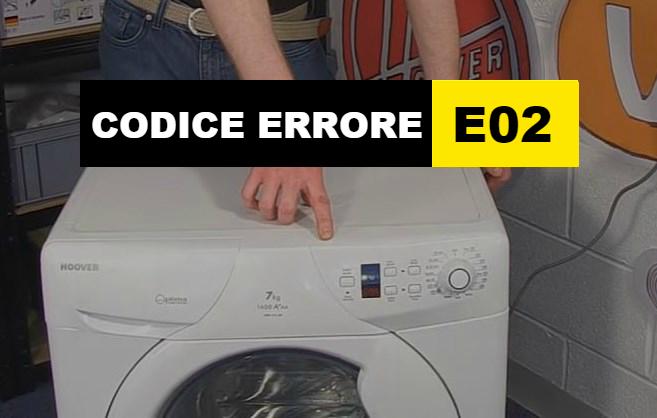 codice errore E02