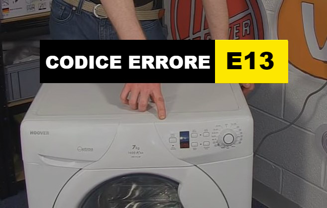 codice errore E13